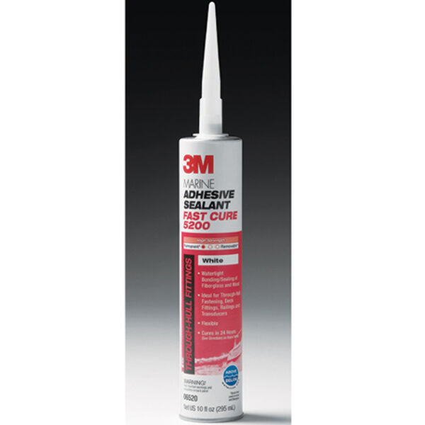 3M Marine Adhesive/Sealant Fast Cure 5200, 1/10 gal. cartridge