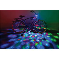 Cruzin Brightz Bike Lights, Multicolor