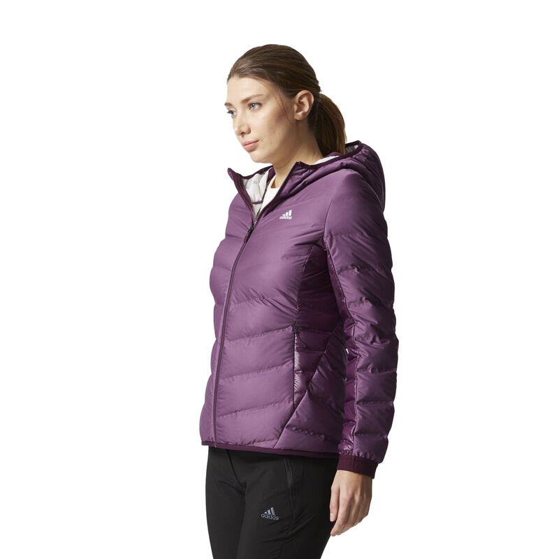 Adidas Women's Nuvic Hooded Down Jacket image number 5