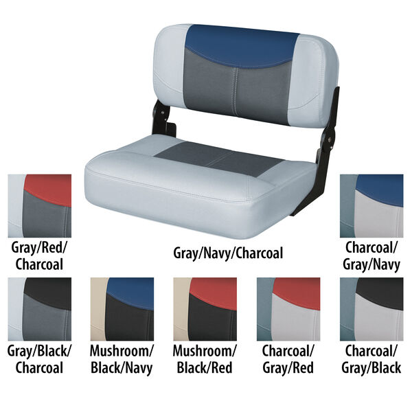 """Wise Blast-Off Tour Series 22"""" Wide Center Buddy Folding Bench Seat"""