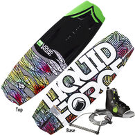 Liquid Force Trip Wakeboard With Trip Bindings And Free Rope