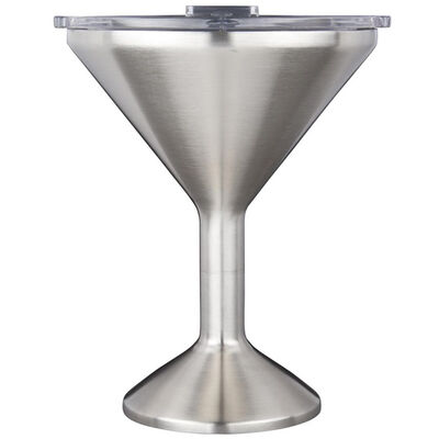 Orca Chasertini 8-oz. Stainless Steel Cup w/Clear Lid