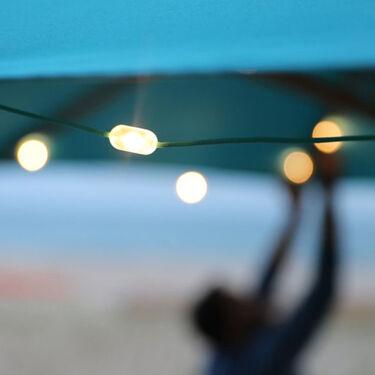Luci Solar LED String Lights