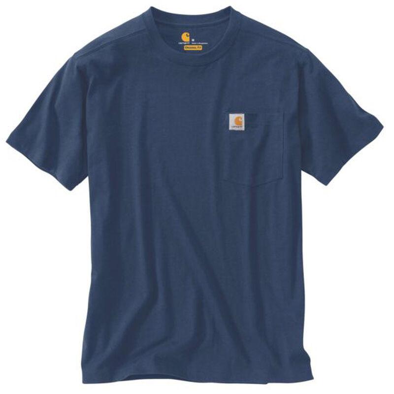 Carhartt Men's Maddock Pocket Short-Sleeved T-Shirt image number 10