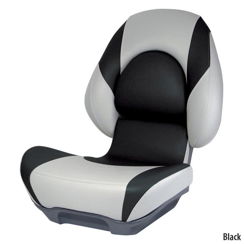 Attwood SAS Centric II Folding Boat Seat, Gray Base image number 6