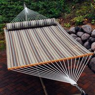 Quick Dry Hammock with Pillow, Brown, 13'