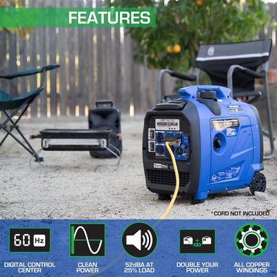 DuroMax 2300-Watt 80cc Dual Fuel Digital Inverter Hybrid Portable Generator