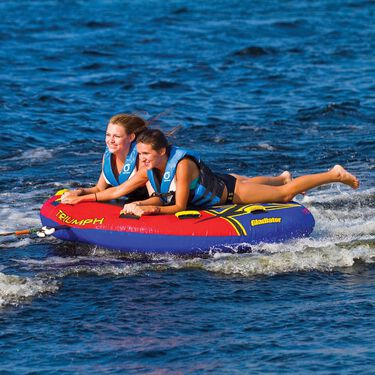 Gladiator Triumph 2-Person Towable Tube With Lightning Valve