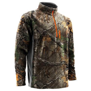 Nomad Men's Southbounder Camo Quarter-Zip Fleece Pullover