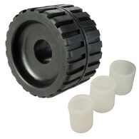 Rubber Ribbed Wobble Roller, 4""