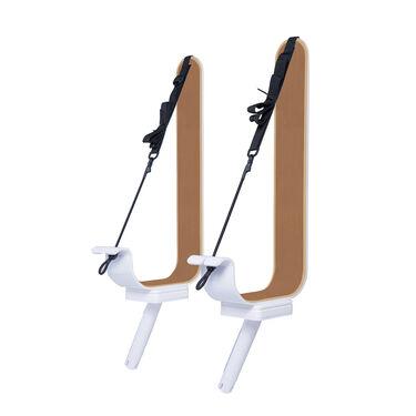 Manta Racks L2K White Paddleboard/Kayak Rack For 1-15° & 1-30° Rod Holders