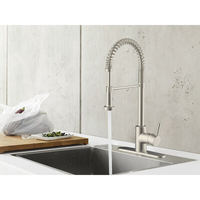 Empire RV Metal Spring Pull-Down Kitchen Faucet with Sprayer