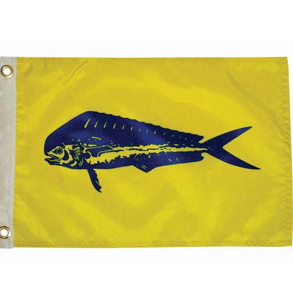 "Fisherman's Catch Flag 12"" x 18"", Dolphin"