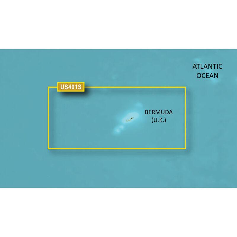 Garmin BlueChart g2 HD Cartography, Bermuda image number 1