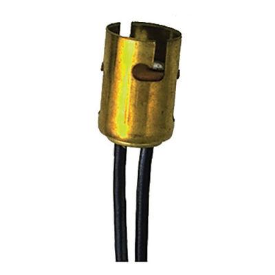 Perko Double Contact Bayonet Socket, Brass