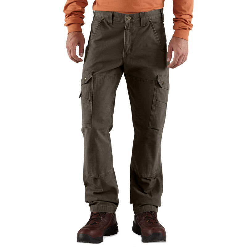 Carhartt Men's Relaxed Fit Double-Front Cargo Work Pant image number 2