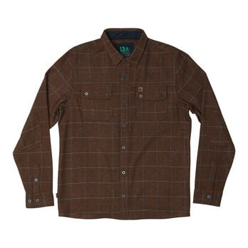 HippyTree Men's Rosenthal Flannel Long-Sleeve Shirt