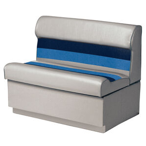 """Toonmate Deluxe 27"""" Lounge Seat - TOP ONLY - Gray/Navy/Blue"""