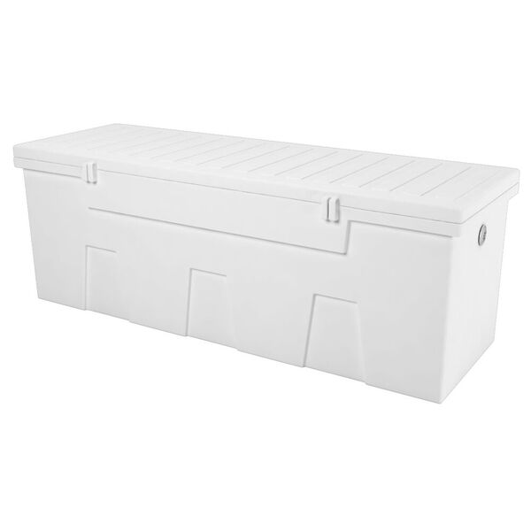 TitanSTOR Large 7' Dock Box With Locks And Mounting Kit