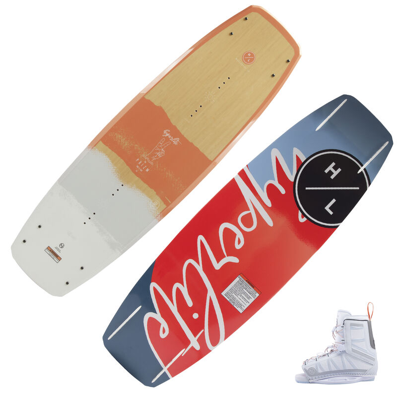 Hyperlite Prizm Wakeboard With Syn OT Bindings image number 1