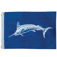 White Marlin Boat Flag