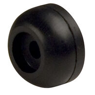 "Rubber End Cap, 1-1/4"" dia., 1/2"" hole"