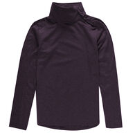 Ultimate Terrain Women's Trailhead Performance Asymmetric Mock-Neck Pullover