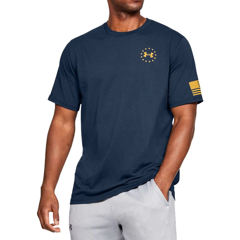 Under Armour Men's Freedom Flag Graphic Tee image number 3