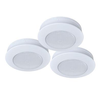 Ecolight LED Tap Light, 3-Pack