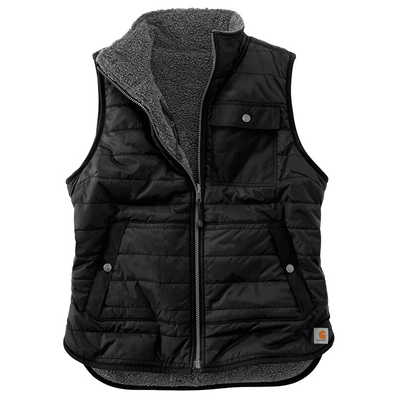 Carhartt Amoret Flannel Lined Vest image number 3