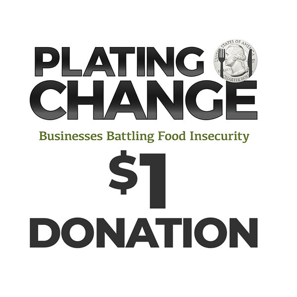 PLATING CHANGE $1 Donation