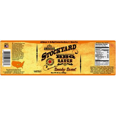 Original Juan American Stockyard Smoky Sweet BBQ Sauce 15oz