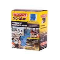 Reliance Bio-Blue Toilet Deodorant, 12-Pack