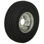 Tredit H188 5.70 x 8 Bias Trailer Tire, 4-Lug Standard Galvanized Rim