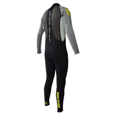 Body Glove Men's Pro 3 Full Wetsuit - Gray/Lime - S