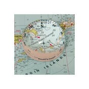 Weems & Plath Crystal Magnifier (4x) with Compass Rose
