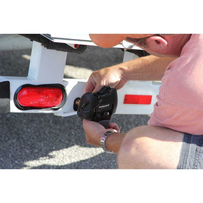 BoatBuckle Retractable Transom Tie-Down System image number 3