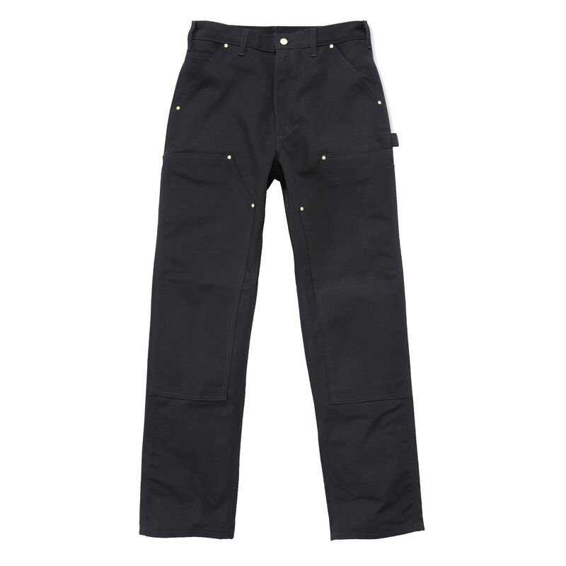 Carhartt Men's Firm Duck Double-Front Work Dungaree Pant image number 2