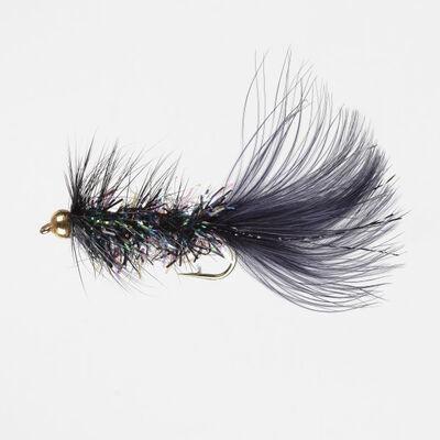 Superfly Streamer Bead-Head Crystal Bugger Fly, 2-Pack