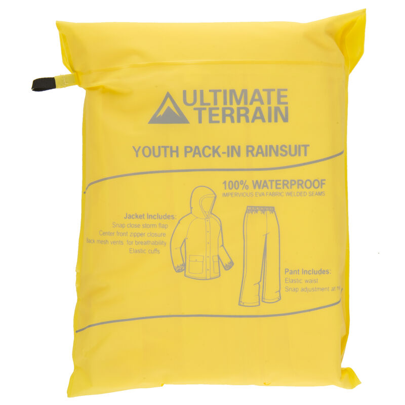 Ultimate Terrain Youth Pack-In Rain Suit image number 28