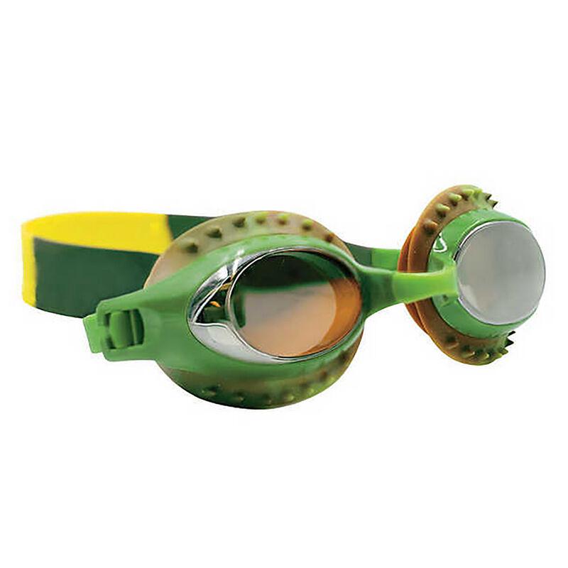 Aqua2ude Swim Goggles, Solid Sea Monster  image number 2