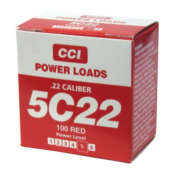 DT Systems CCI 5C22 (Red) Heavy Power Loads
