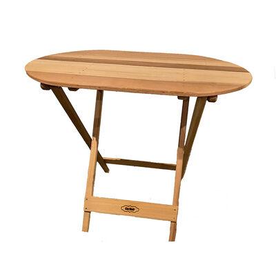 Cedar Wood TailBak Table