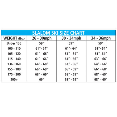 O'Brien Jr. Pro Tour Slalom Waterski w/X-9 Adjustable Binding And Rear Toe Plate