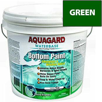 Aquaguard Waterbase Anti-Fouling Bottom Paint, 2 Gallons, Green