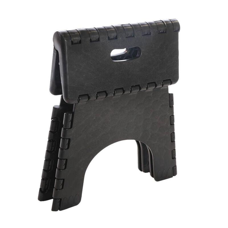 "E-Z Foldz Folding Step Stool, 9"" - Black image number 5"