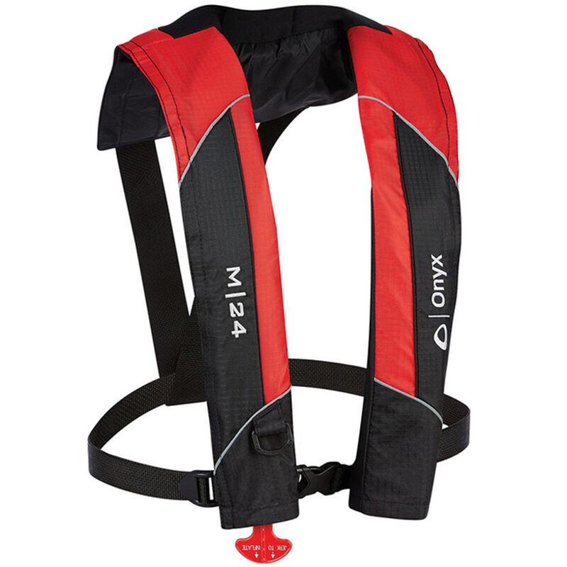 Onyx M-24 Manual Inflatable Life Jacket image number 1