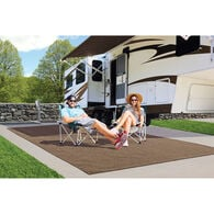 Prest-O-Fit Surface Mate Patio Rug, 6' x 9', Brown