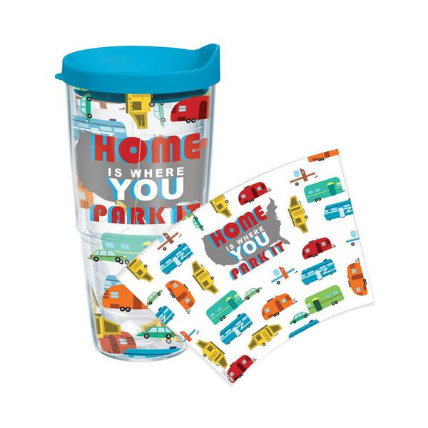 Home is Where You Park It Tumbler, 24 oz.