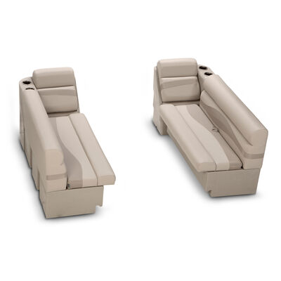 Taylor Made Platinum Series Pontoon Furniture Bench And Chaise Set